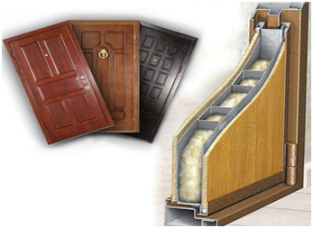 материал для двери стальные